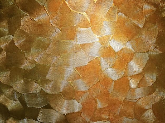 Золотой фоновой текстуры