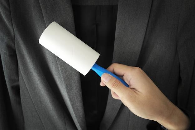 手を保持するスティッククリーニングスーツ