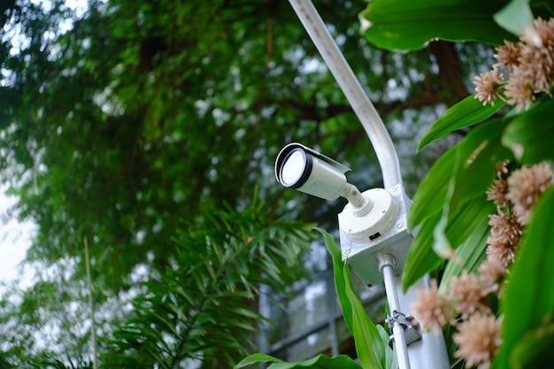 公園に設置するカメラのセキュリティ