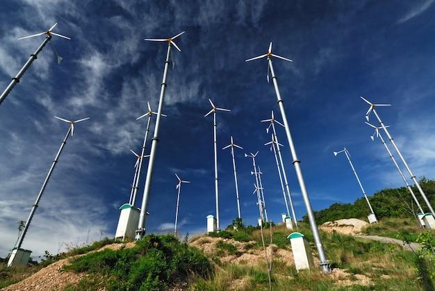 ラーン島の風車発電所