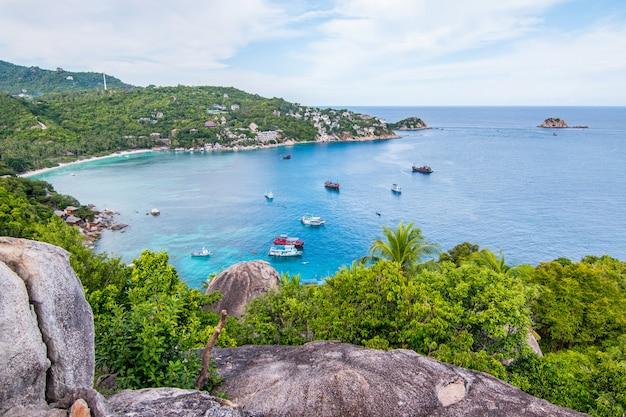 ジョン・スワン、スラタニ、タイのタオ島での視点