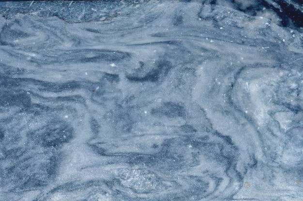 青い大理石の石の表面