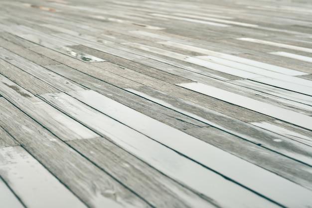 Мокрые деревянные полы