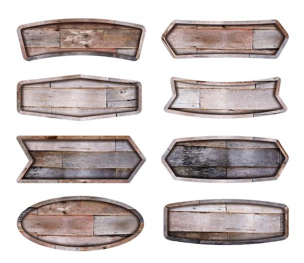 木製看板コレクション