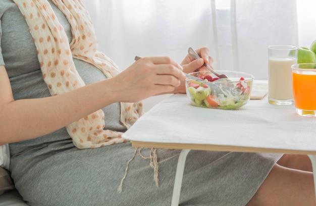 妊婦の健康食品。