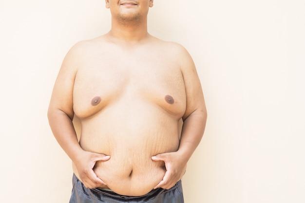 肥満と健康肥満の男性