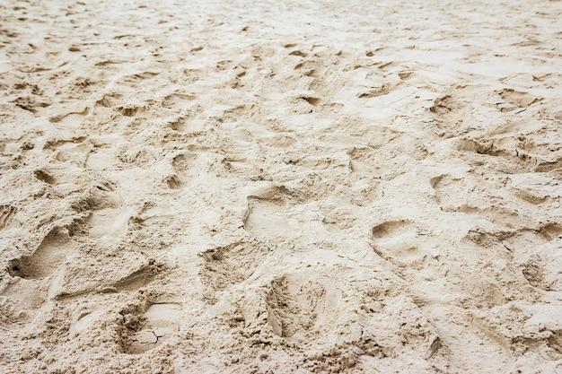 砂浜のテクスチャの背景