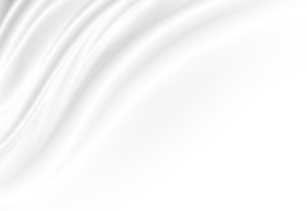 コピースペースと白の高級布の背景
