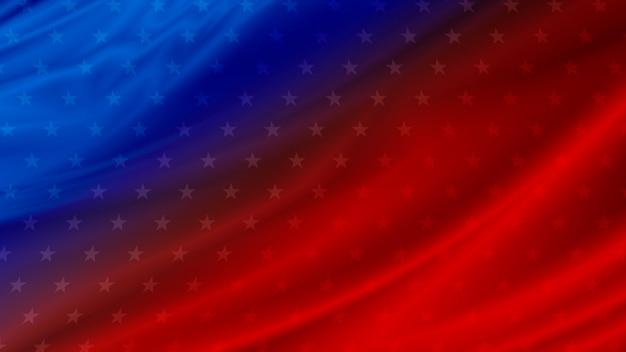 コピースペースを持つアメリカの国旗の背景