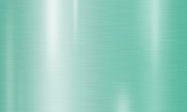 ネオミント色の金属のテクスチャ背景
