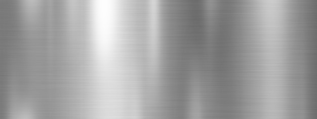 銀の金属のテクスチャ背景デザイン