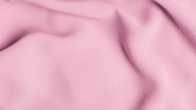 ピンクのシフォン生地のテクスチャ