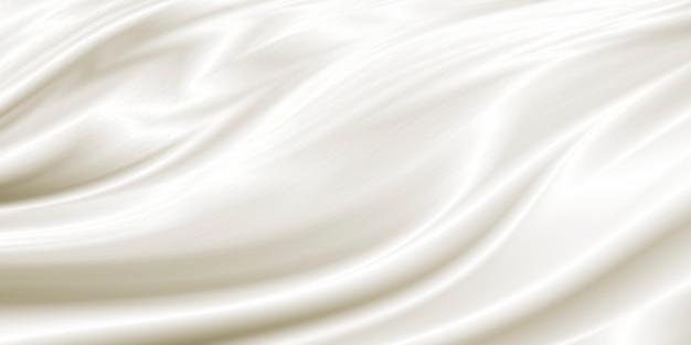 白い豪華な布の背景