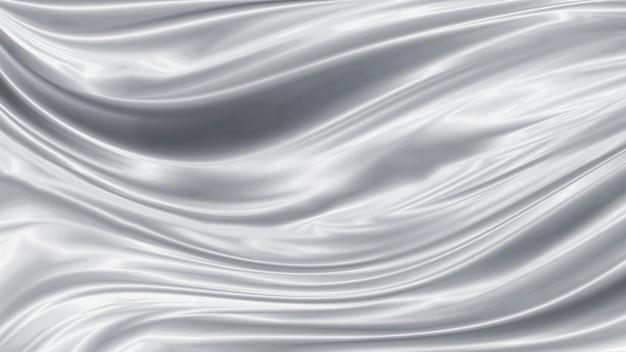 Серебряный роскошный фон ткани