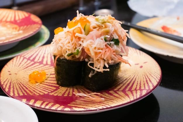 混合シーフード寿司