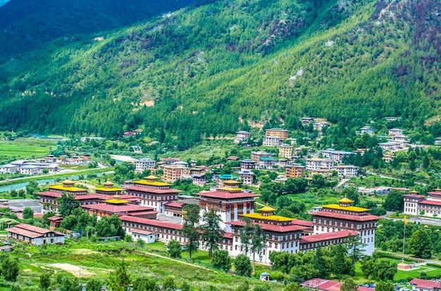 ブータン首都タシチョ・ゾン