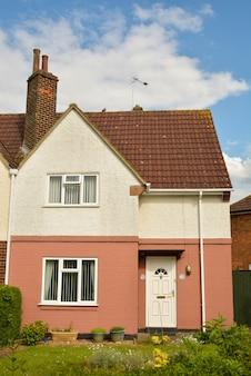 典型的なイギリスの家