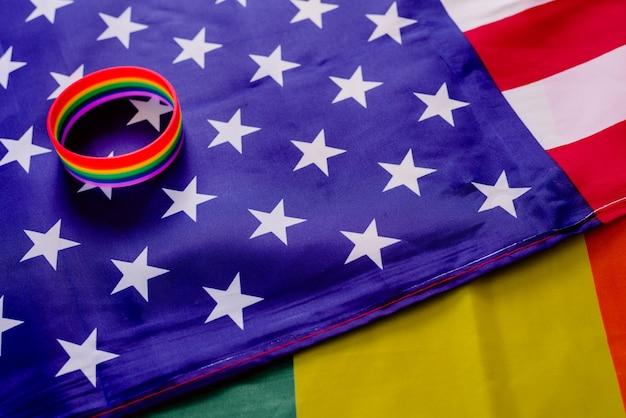 Права сообщества лгбт в соединенных штатах постепенно улучшаются.