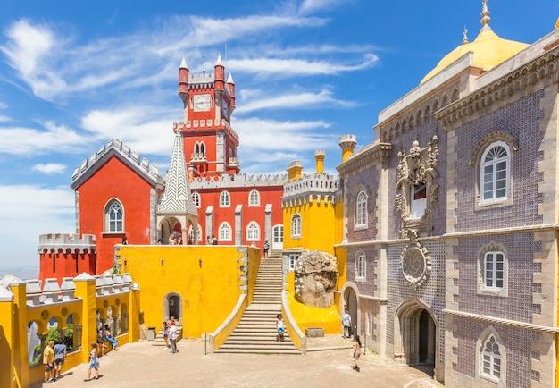 シントラのペナ宮殿、ポルトガル