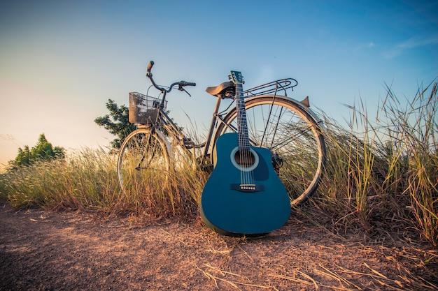 ギター付き自転車