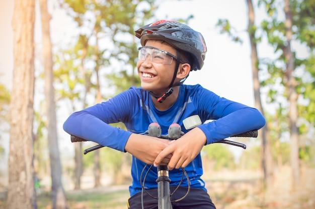 男の子のバイク