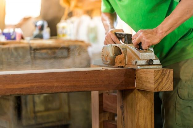 木工で使用される工具。