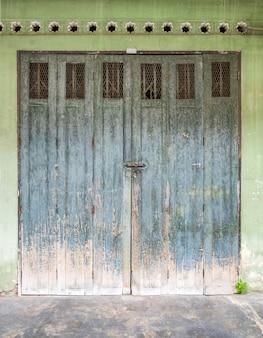 建築ドア古代のビンテージデザイン