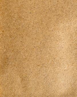 茶色の紙の粗い質感