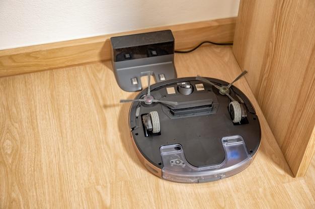 掃除機ロボットの回転率がゴムタイルで機能しない