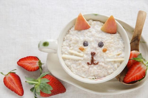 Завтрак для котят