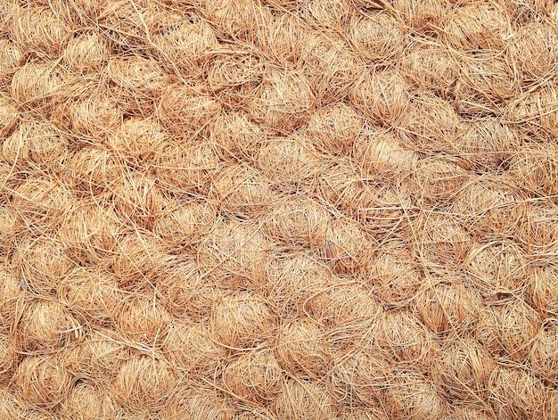 ココナッツ繊維の質感と背景