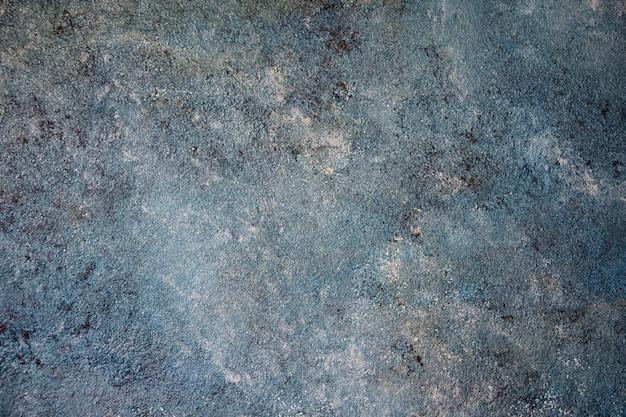 青いグランジ色の壁