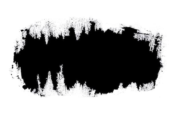 Нарисуйте черную кисть цветовой текстуры с пространством для вашего собственного текста