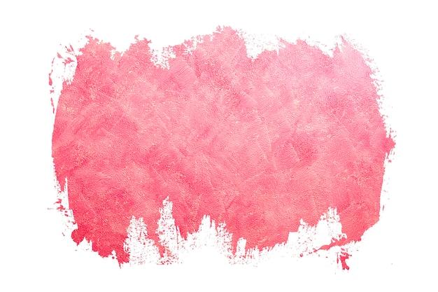 Абстрактные мазки розового цвета. разработанный гранж на стене текстуры. закрасить черными мазками кисть обводки цветовой текстуры с пробелом для собственного текста