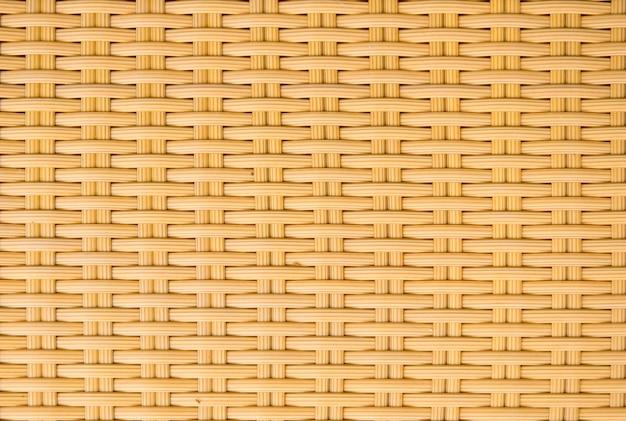 プラスチックウィッカーパターンの背景を織る