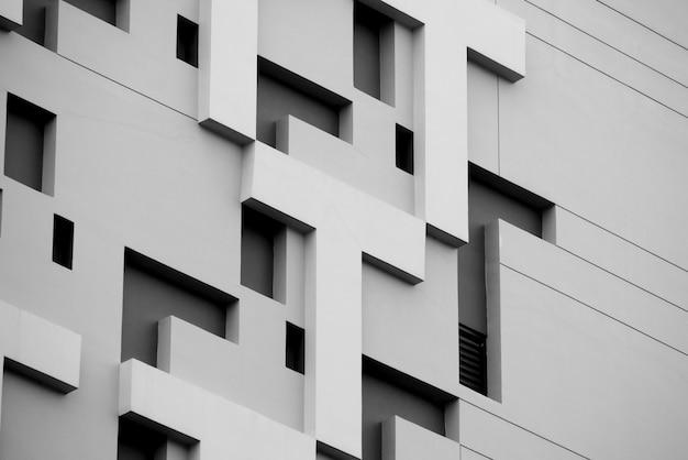 抽象的な背景アーキテクチャライン。近代建築の詳細