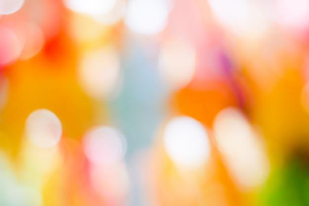 抽象的な背景カラフルなパステル調のボケ味ピンクイエローブルー
