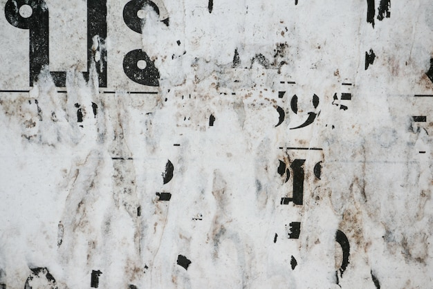 古いグランジポスター紙表面テクスチャ背景