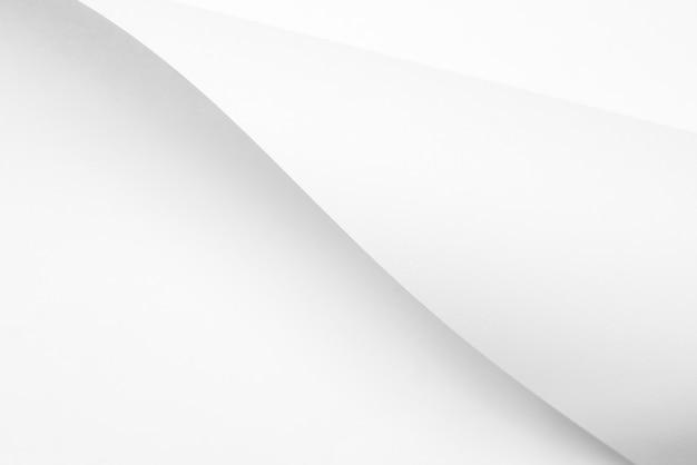 ツイストホワイトペーパーシートデザインの背景テクスチャ