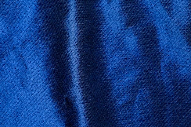 Синяя текстура ткани