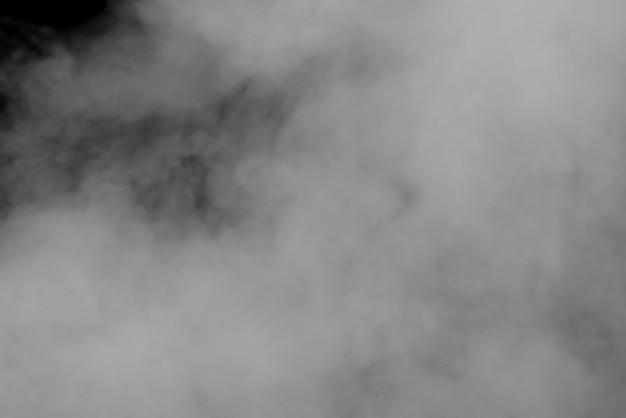 抽象的な背景煙曲線と波