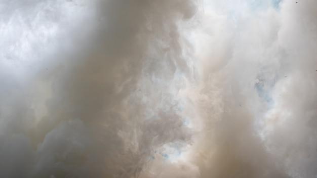 霧や煙の背景。スモッグの抽象的な背景
