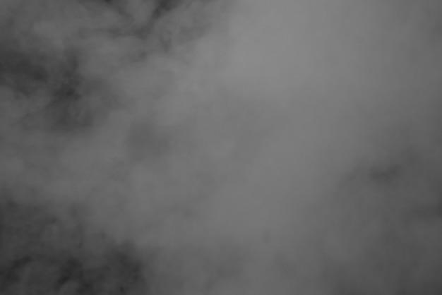 抽象的な背景煙黒と白