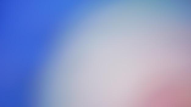 青のグラデーションデフォーカス抽象的な写真の滑らかなラインの色の背景