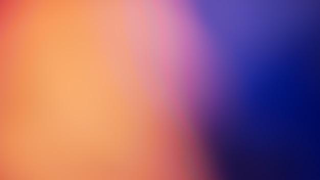オレンジ色のグラデーションデフォーカス抽象写真滑らかな線の色の背景