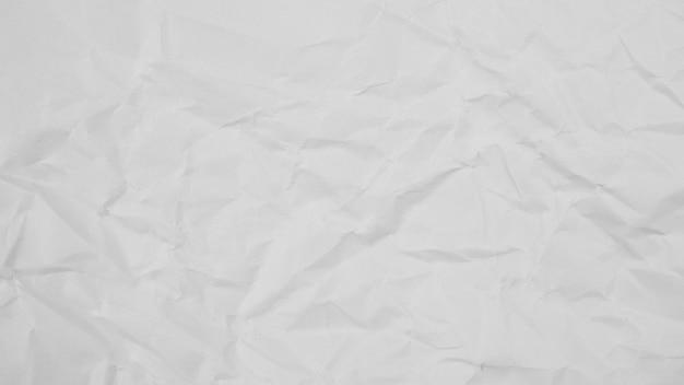 白いしわ紙テクスチャ背景