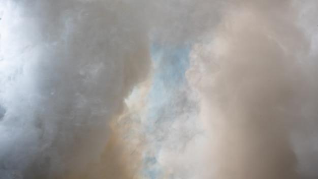 白い煙、霧や煙の背景、スモッグの抽象的な背景の背景