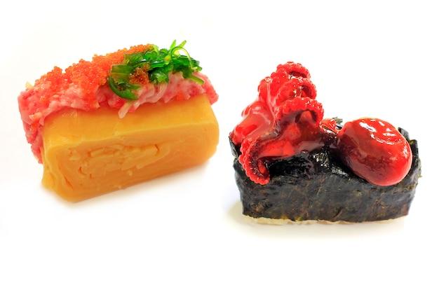 白の日本食。