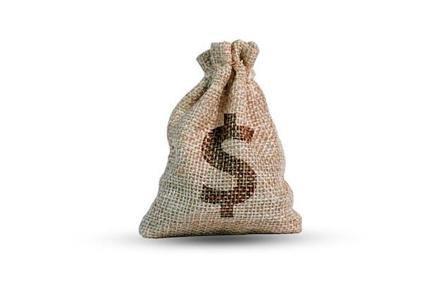 Мешок доллара сша