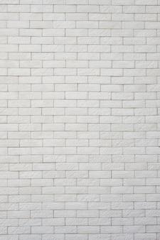 Белая кирпичная стена для фона и текстуры